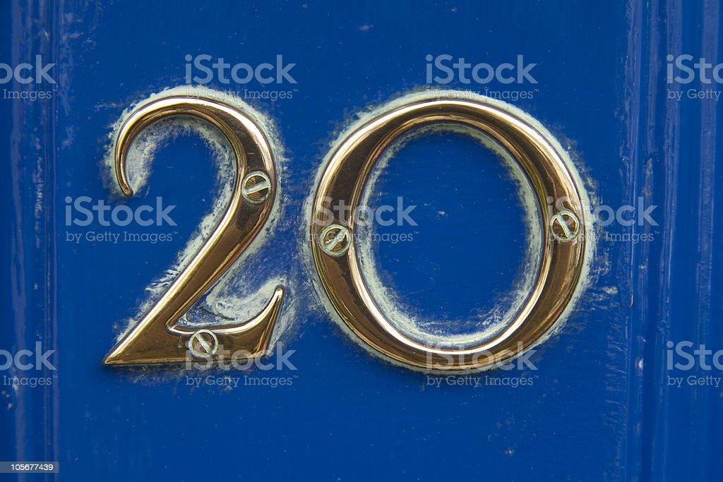 Twenty royalty-free stock photo