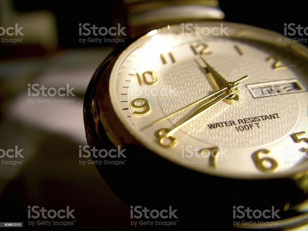 Twenty to Midnight stock photo