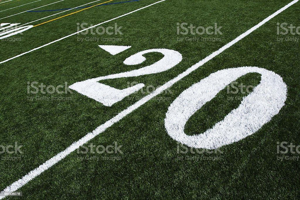 Twenty Yards royalty-free stock photo
