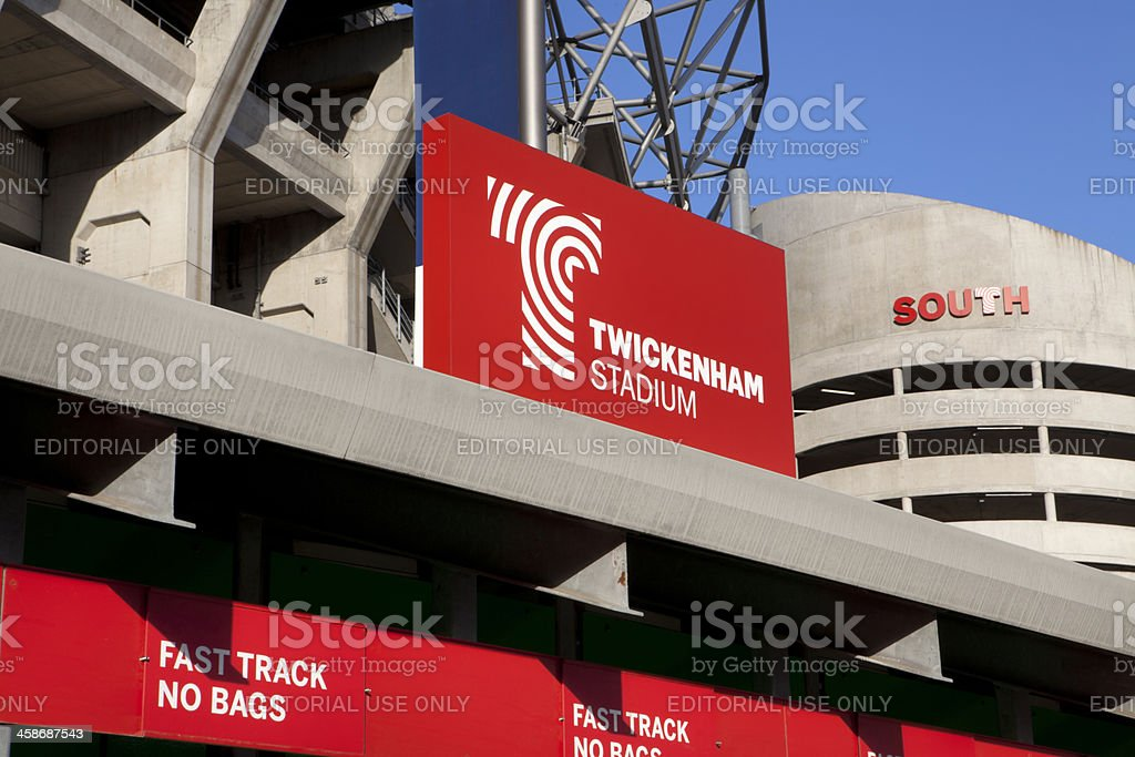 Twickenham Stadium (XXXL) stock photo