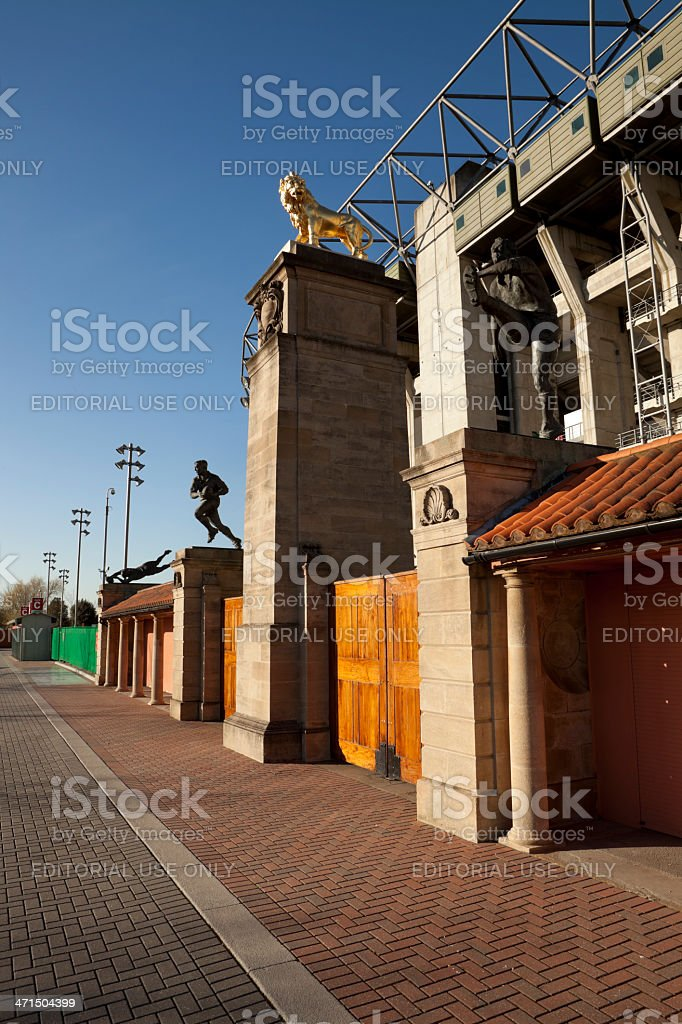 Twickenham Stadium (XXXL) royalty-free stock photo