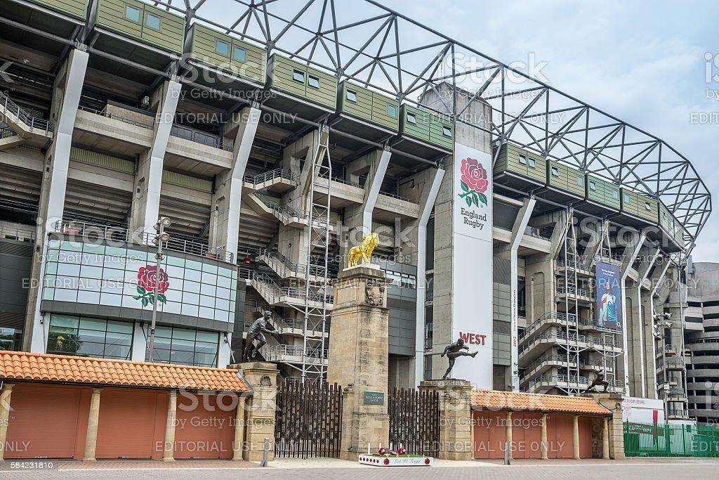 Twickenham Stadium stock photo