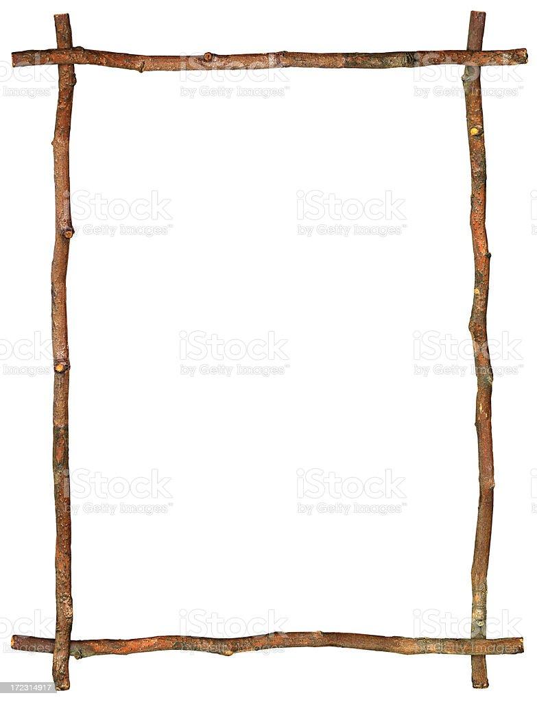 twig border stock photo