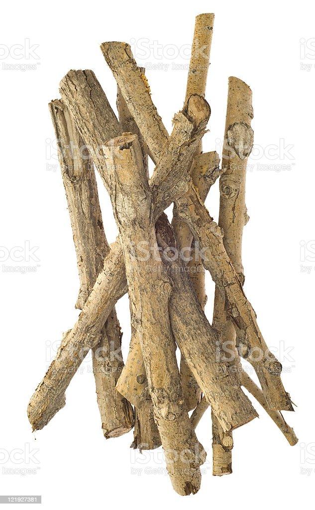 Twigs Bundle royalty-free stock photo