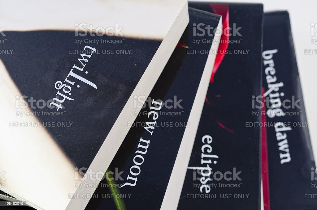 Twilight Book Series stock photo