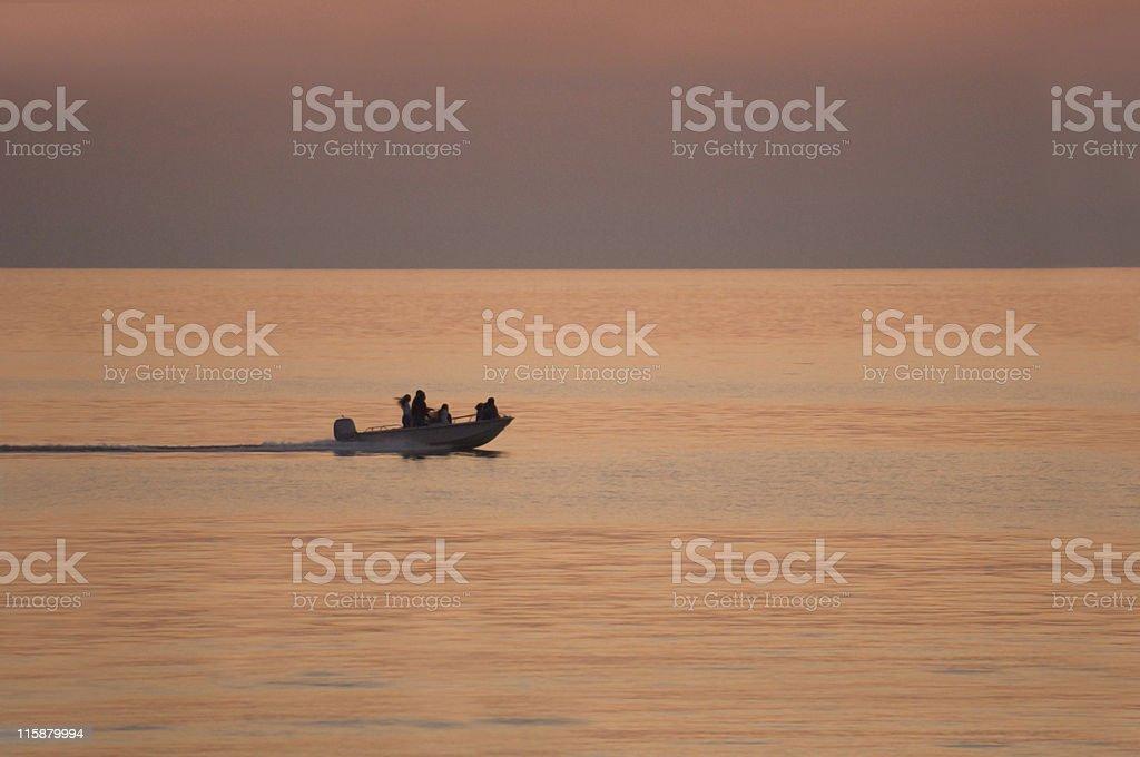 Twilight Cruise royalty-free stock photo