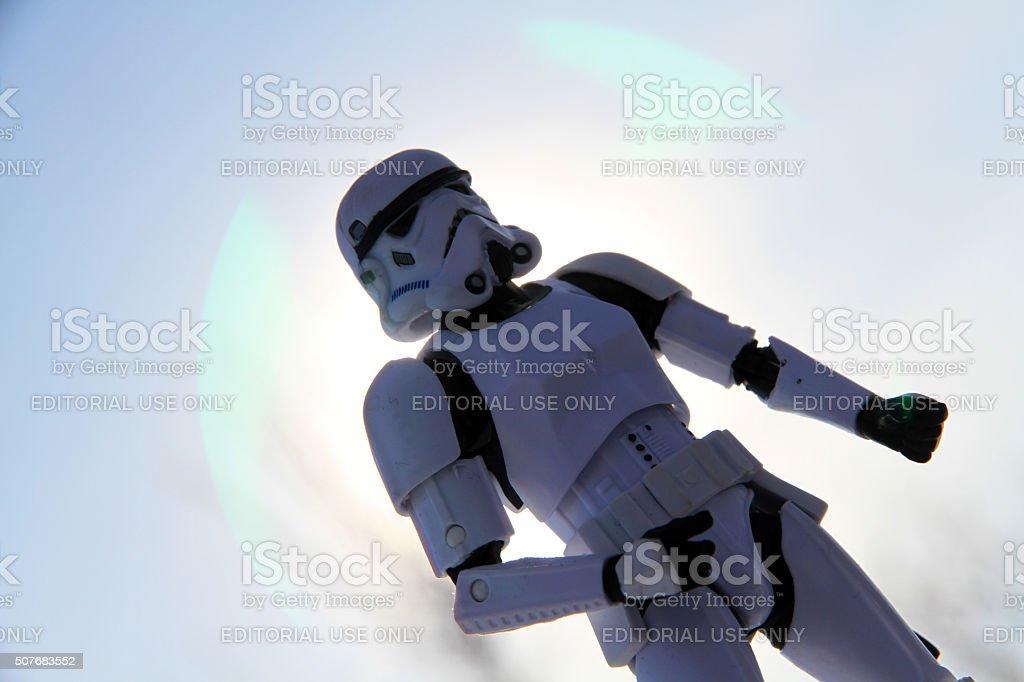 Twilight of the Empire stock photo