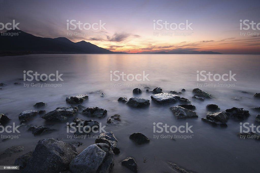 Twilight royalty-free stock photo