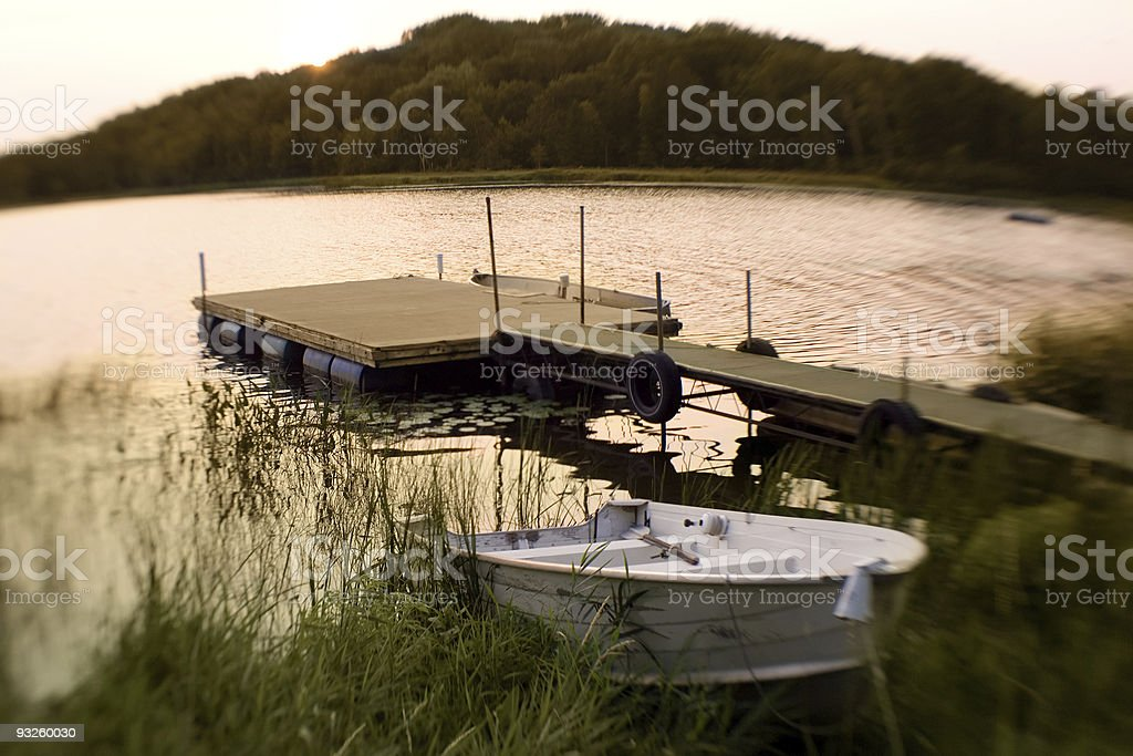 Twilight Serenity royalty-free stock photo
