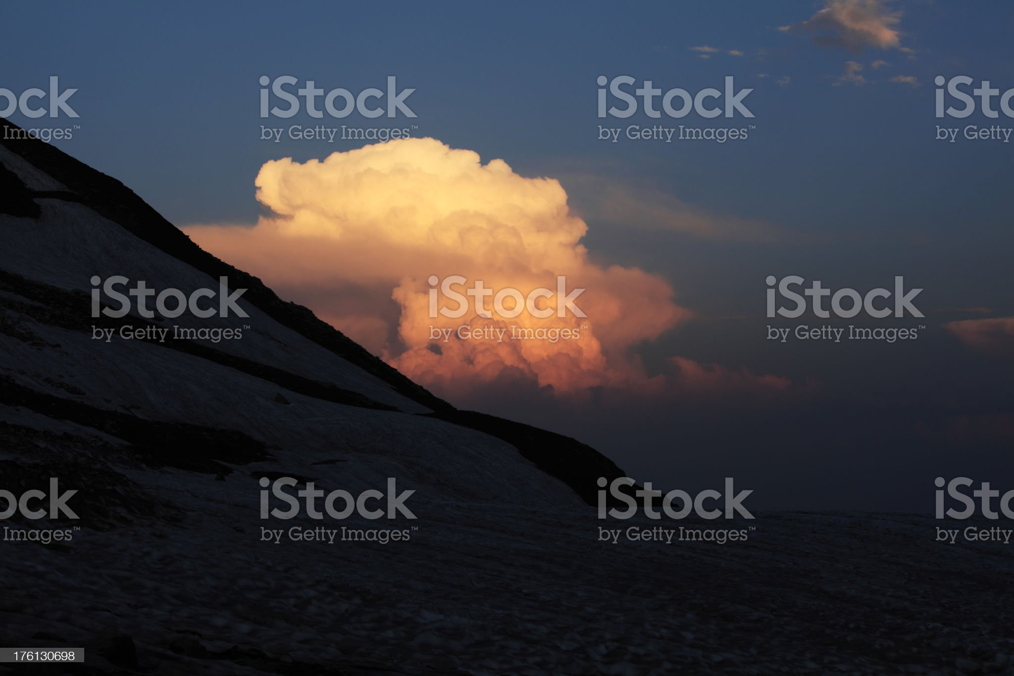 Twilight Sky royalty-free stock photo