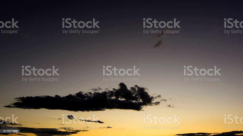 twilight skys stock photo