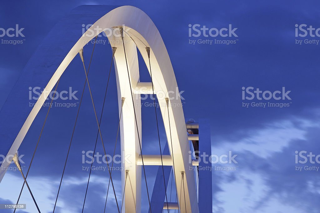 twin arches stock photo