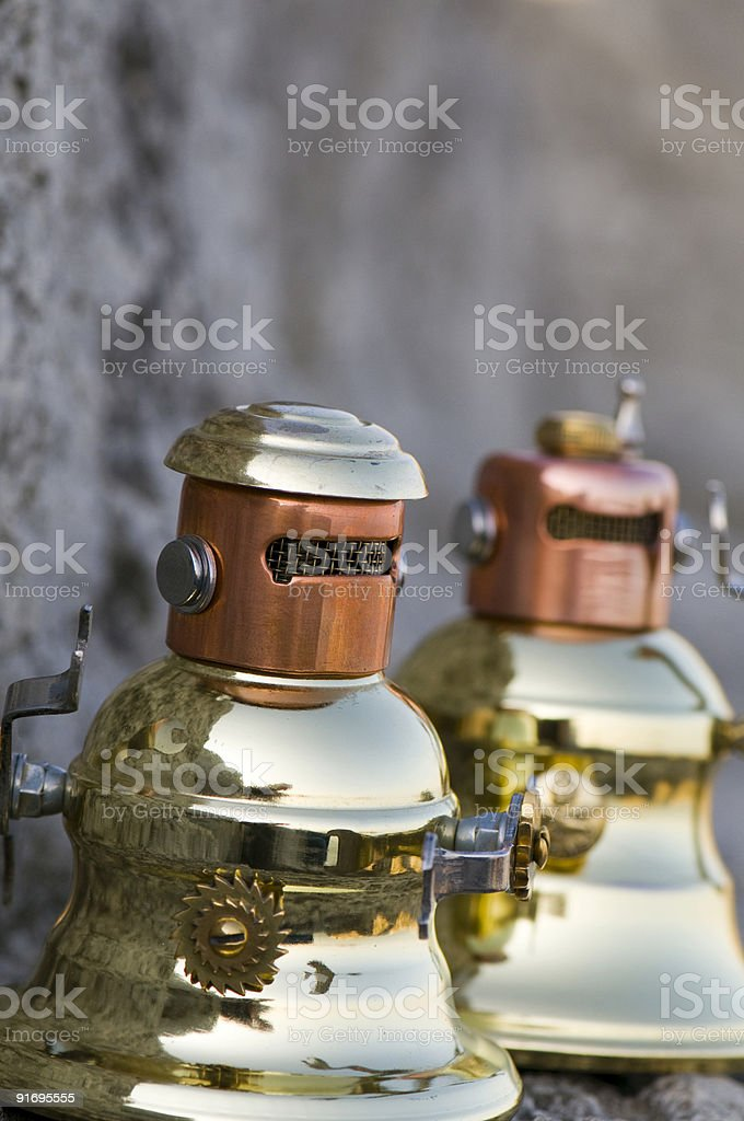 Twin Bobs royalty-free stock photo