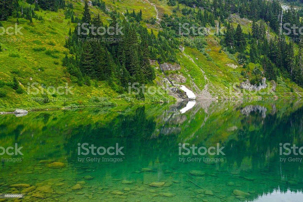 Twin Lake Stones stock photo