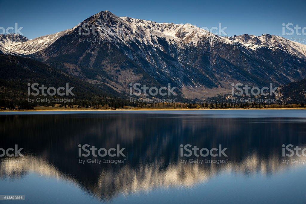 Twin Lakes, Colorado stock photo