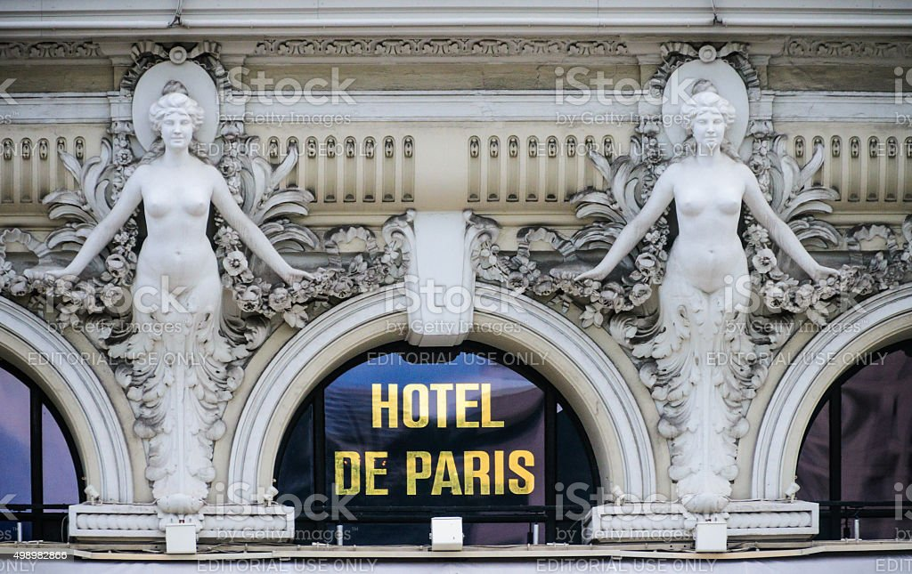 Twin Nudes of Monaco stock photo