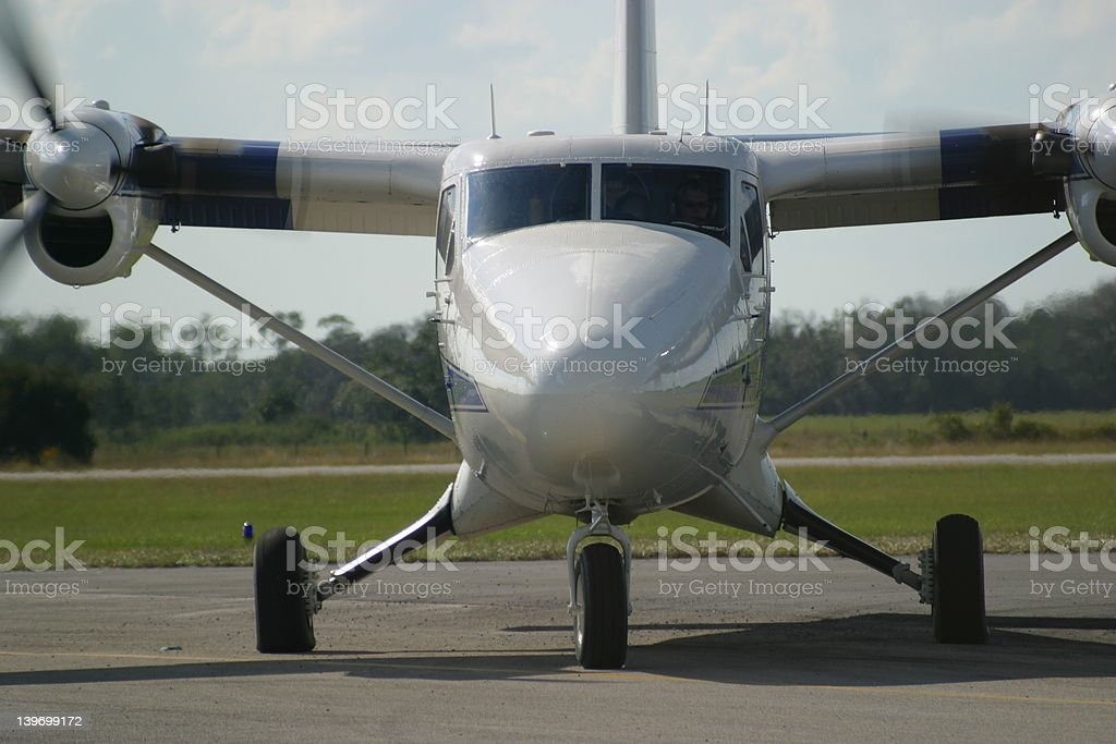 Twin Otter royalty-free stock photo