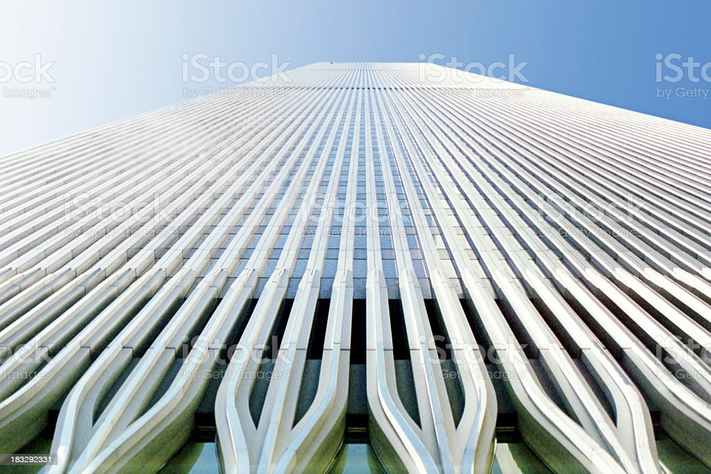 Twin Tower stock photo