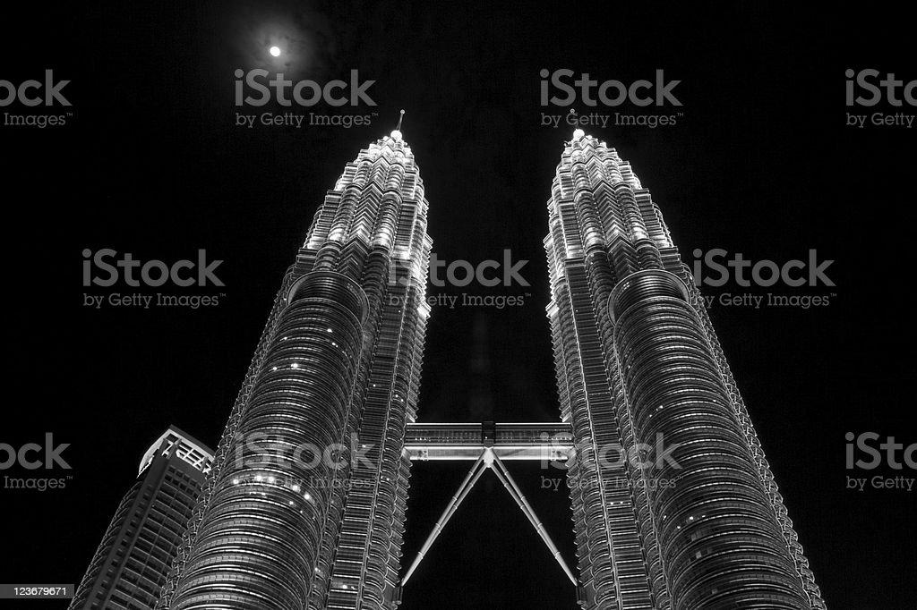 Twin Towers Lizenzfreies stock-foto