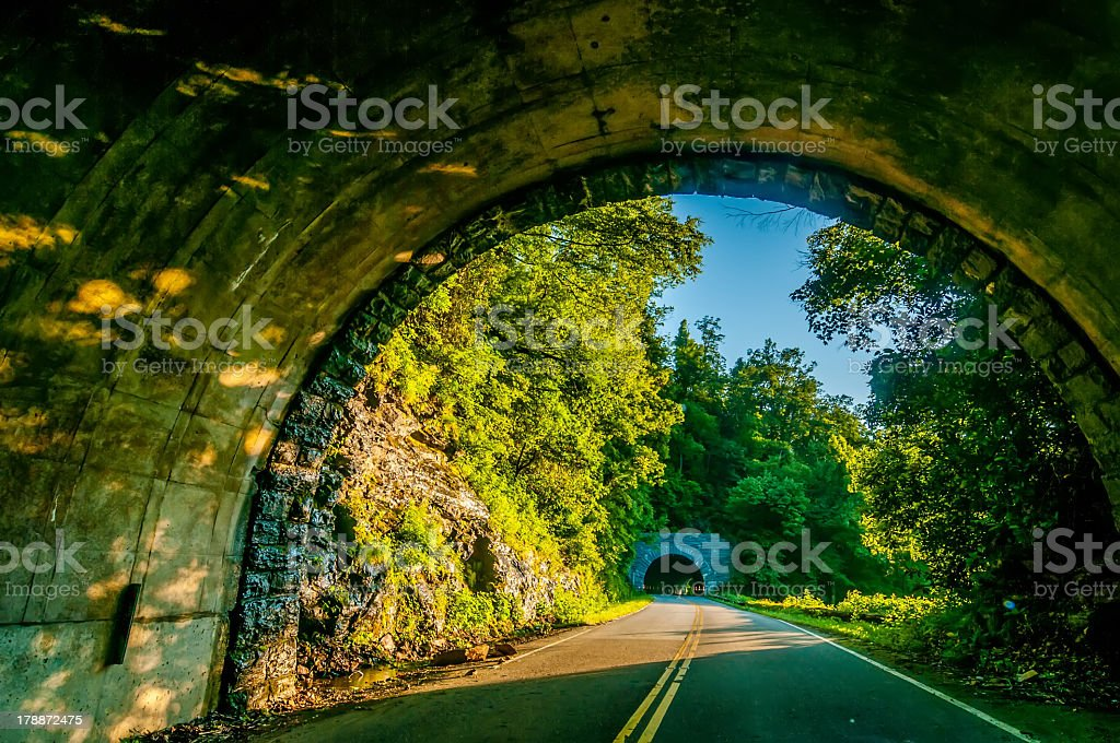 twin tunnel royalty-free stock photo