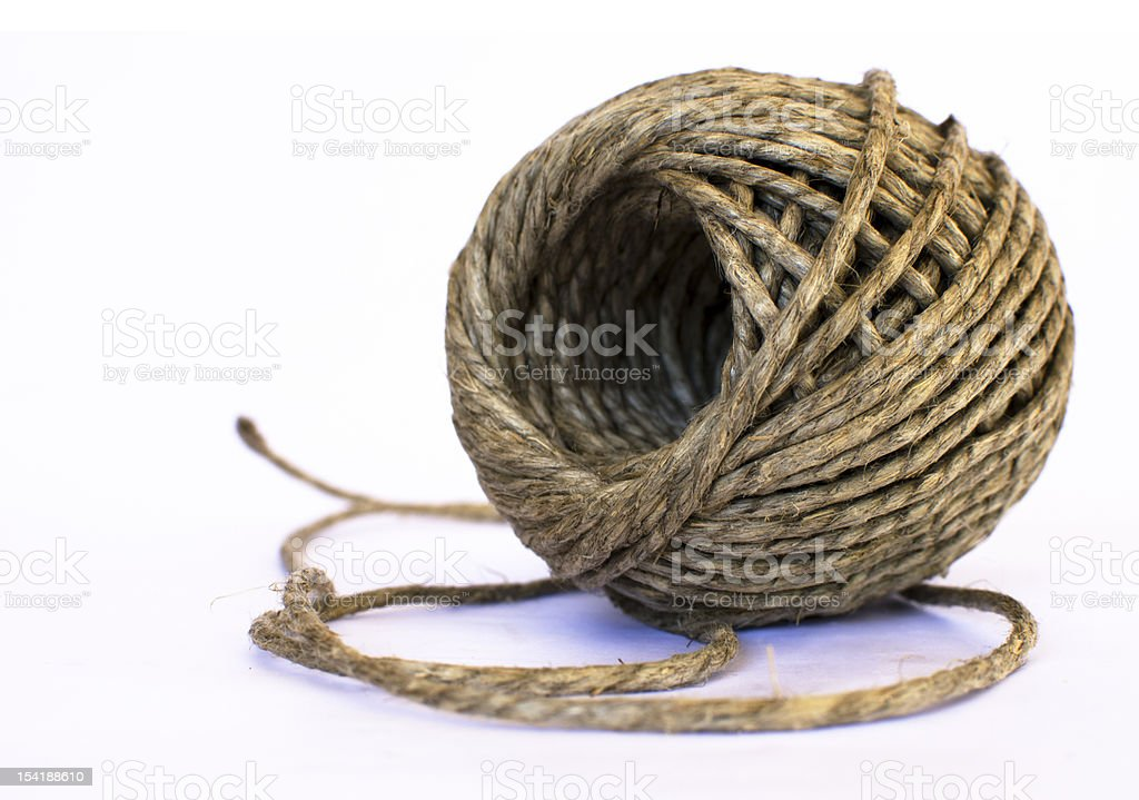Twine royalty-free stock photo
