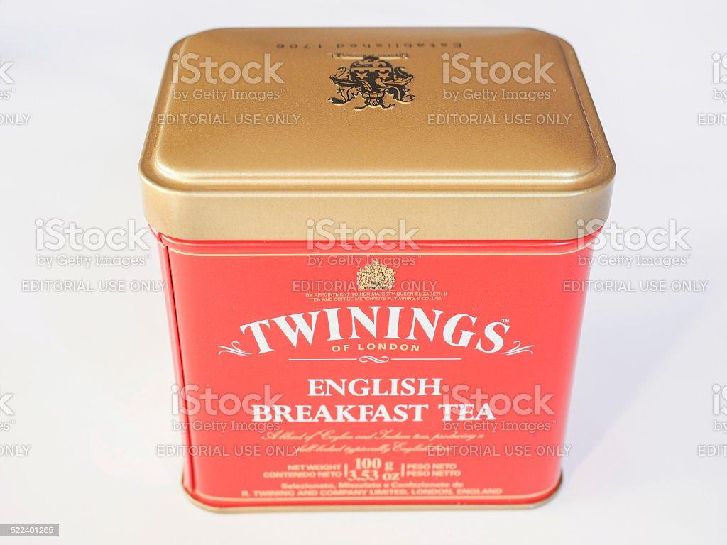 Twinings Tea stock photo