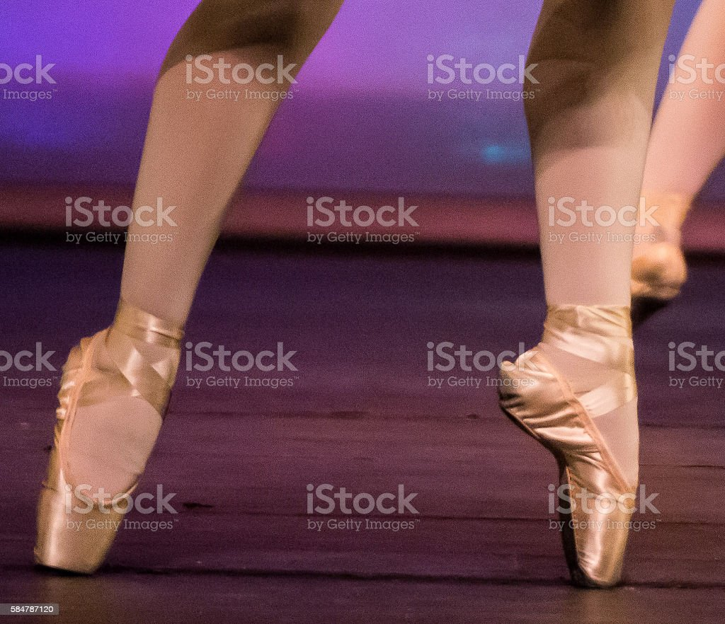 Twinkle Toes stock photo