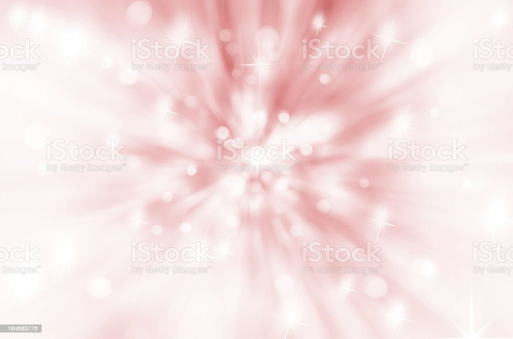 Twinkly Lights and Stars Christmas Background royalty-free stock photo
