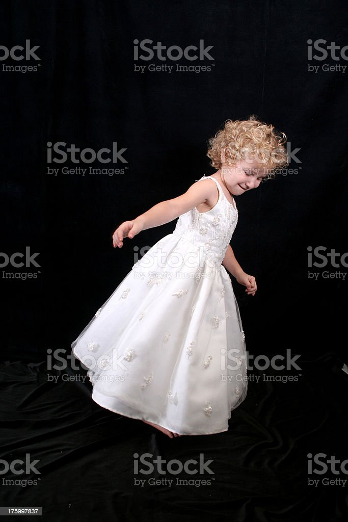 Twirling royalty-free stock photo