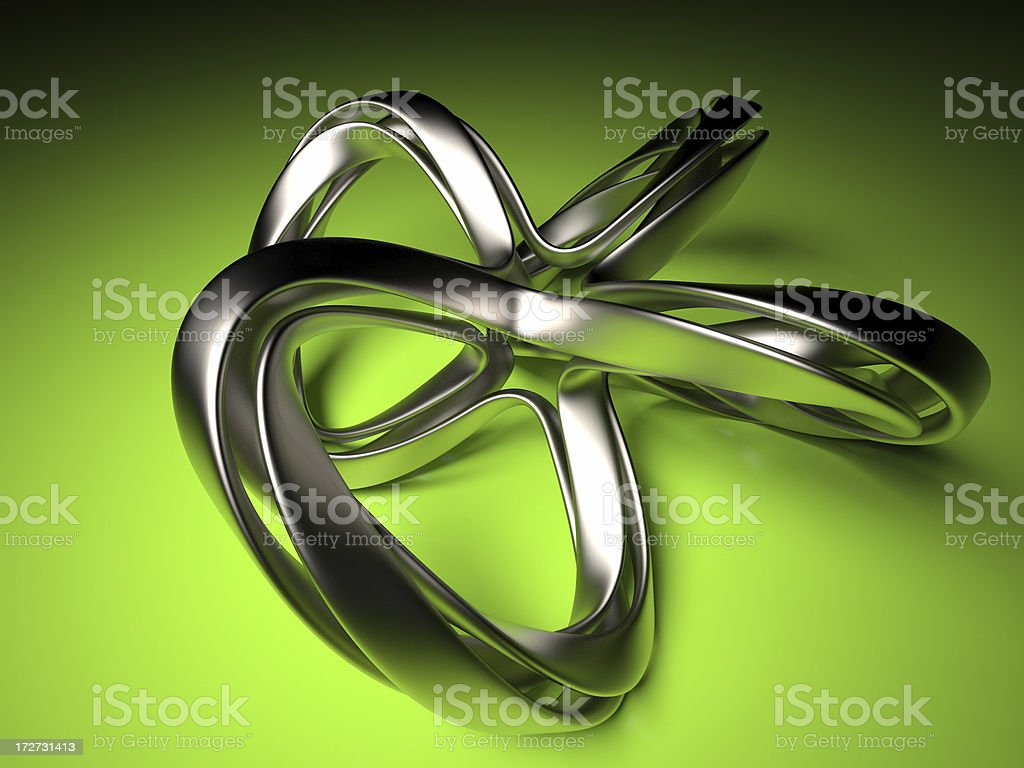 Twist royalty-free stock photo