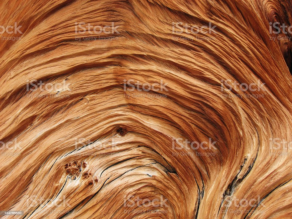 twisted wood grain royalty-free stock photo