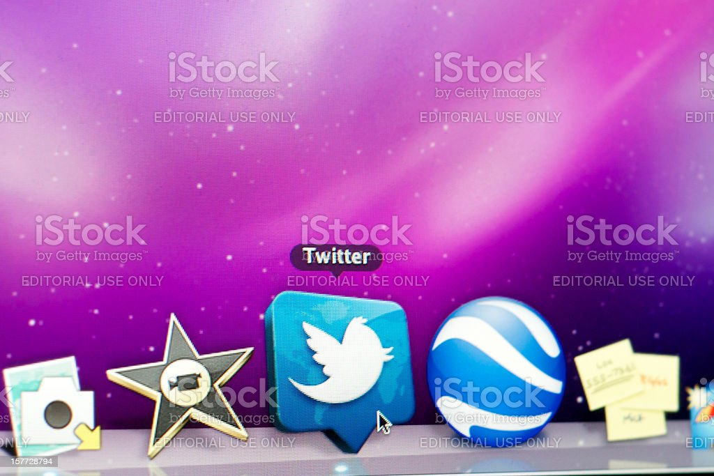 Twitter Icon royalty-free stock photo