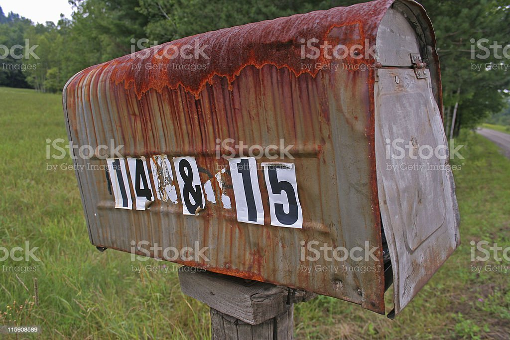 two adres, one box stock photo