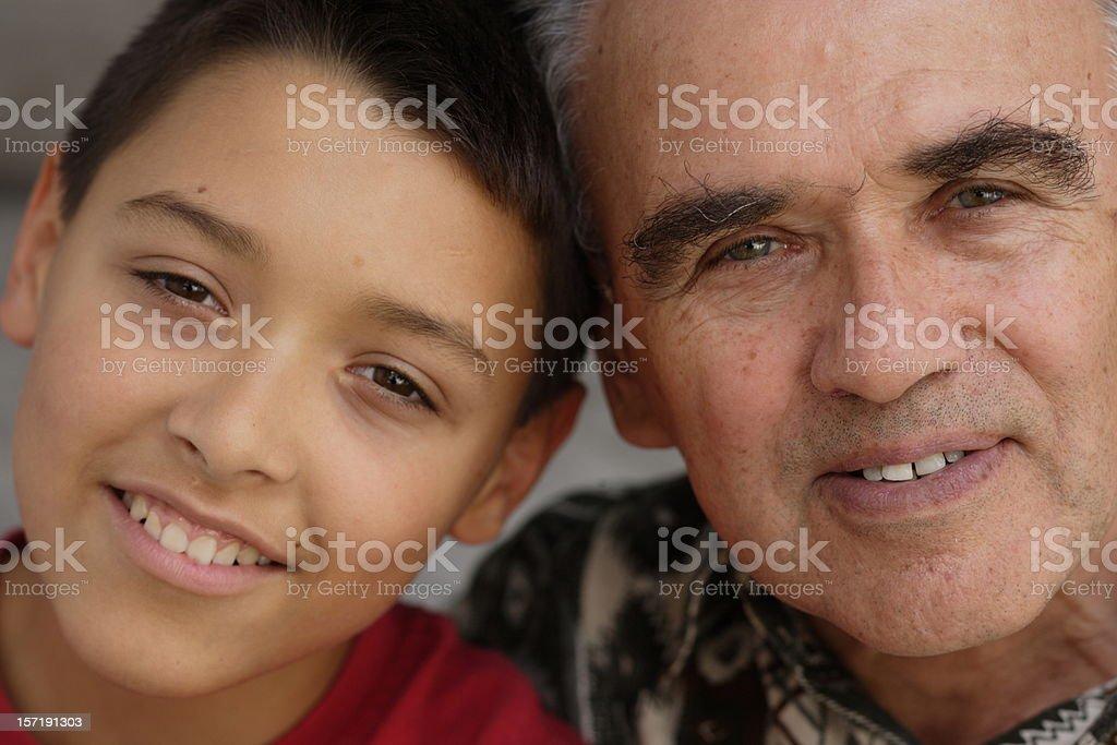 Two Amigos royalty-free stock photo