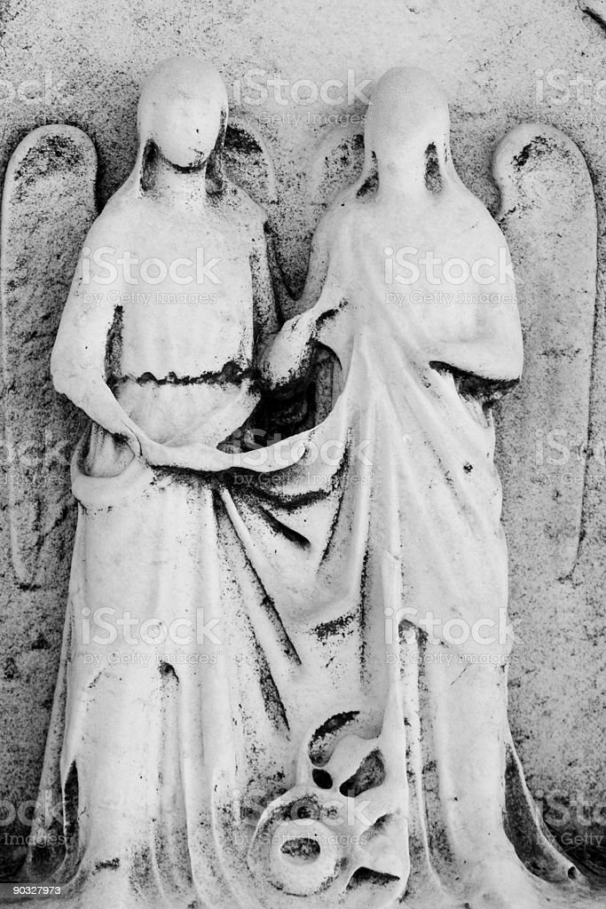 Two Angels royalty-free stock photo
