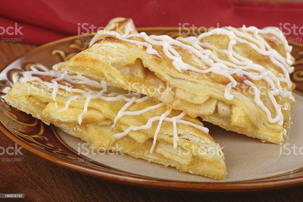 Two Apple Turnovers stock photo