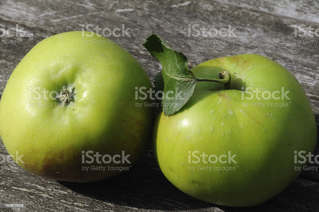 Two Apples. stock photo