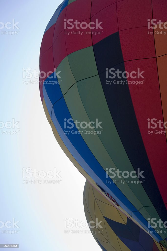 Due palloncini foto stock royalty-free