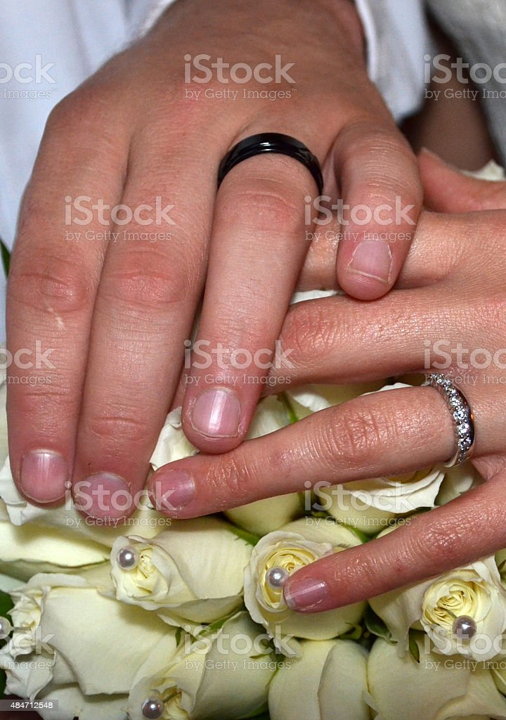 Two become one royalty-free stock photo