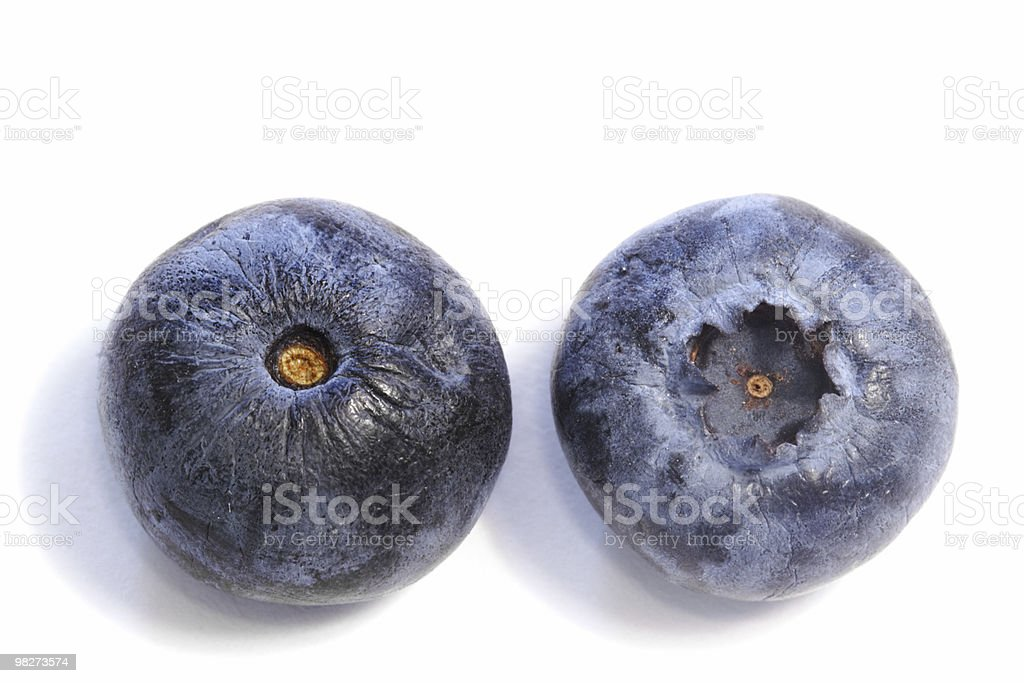 Two Berries royalty-free stock photo