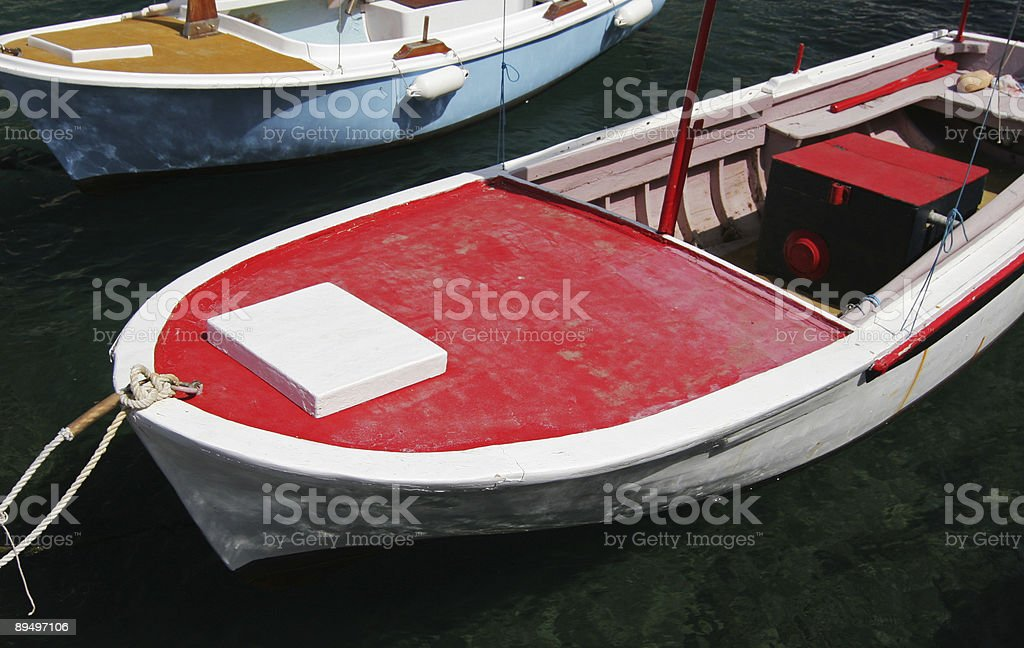 Two boat stock photo