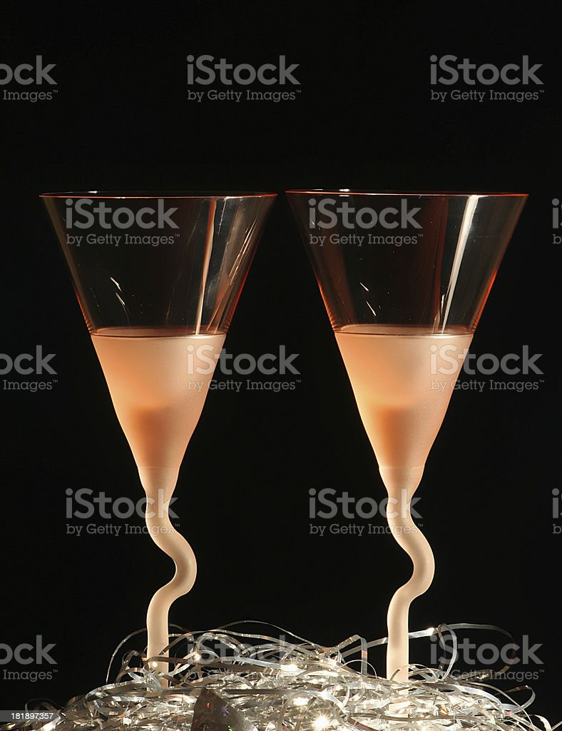 Two bocals royalty-free stock photo