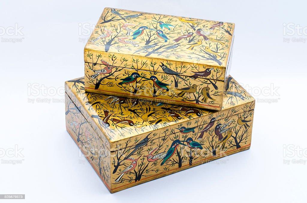 Two boxes royalty-free stock photo