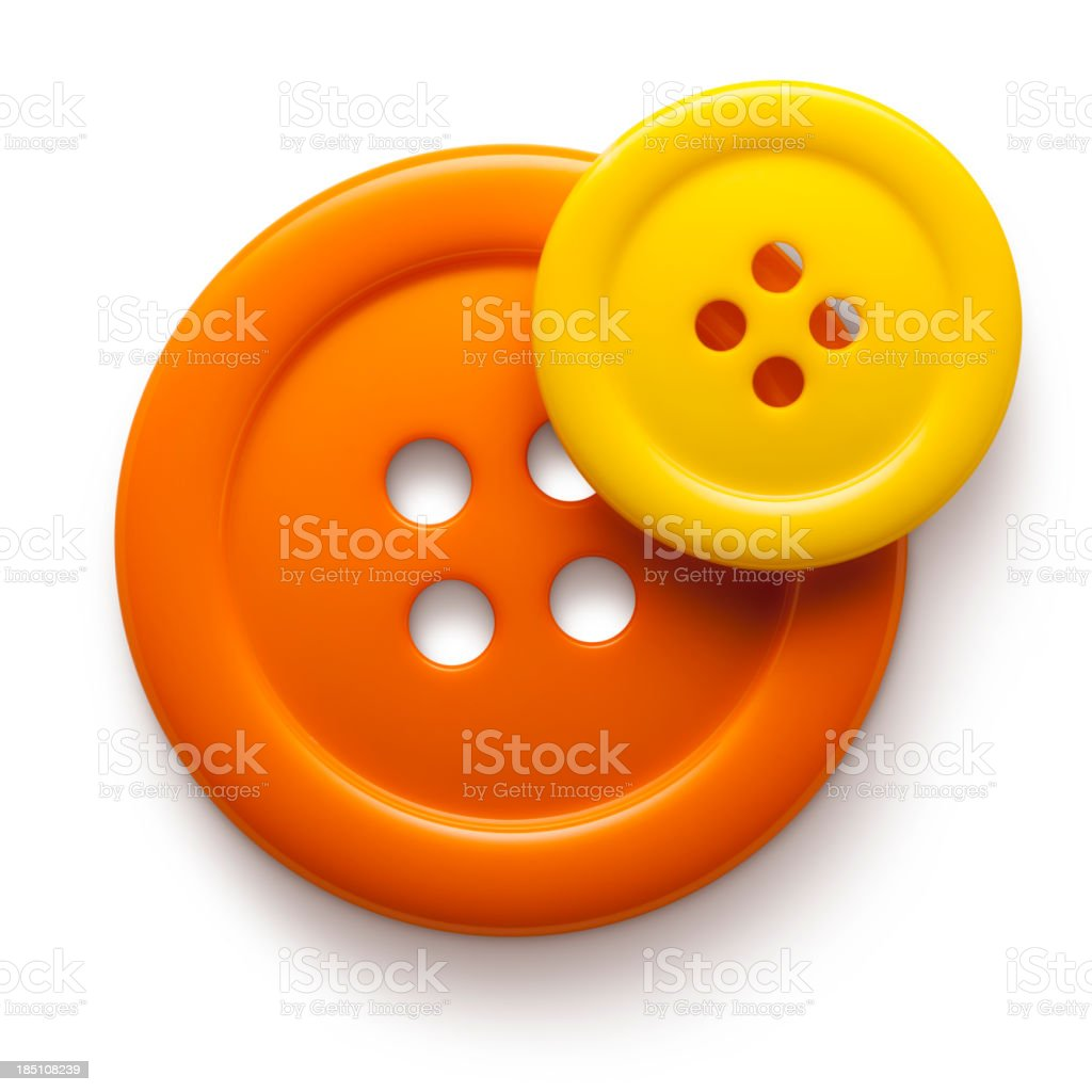 Two buttons royalty-free stock photo