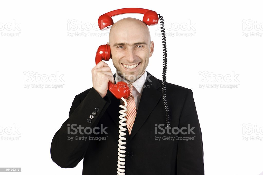 Two Calls royalty-free stock photo