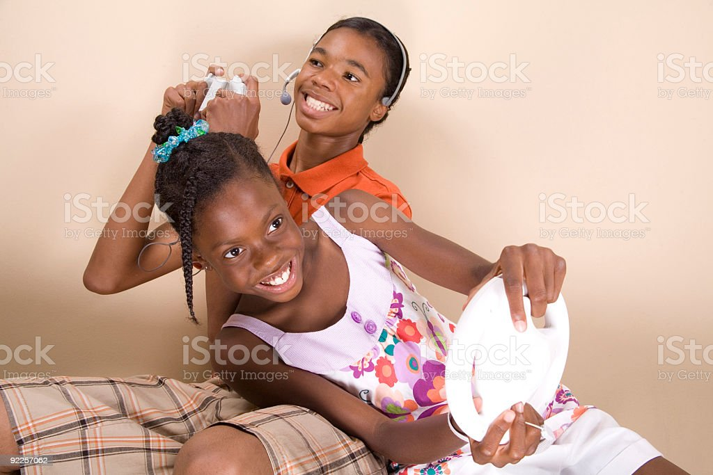 Two Can Play royalty-free stock photo