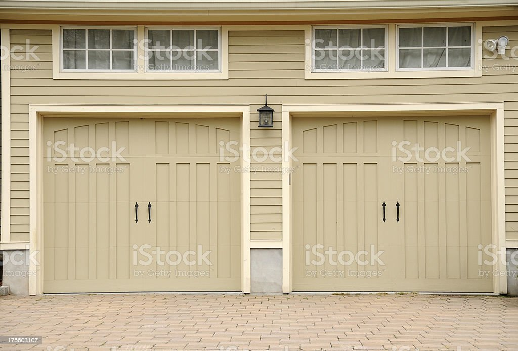 Two Car Garage royalty-free stock photo