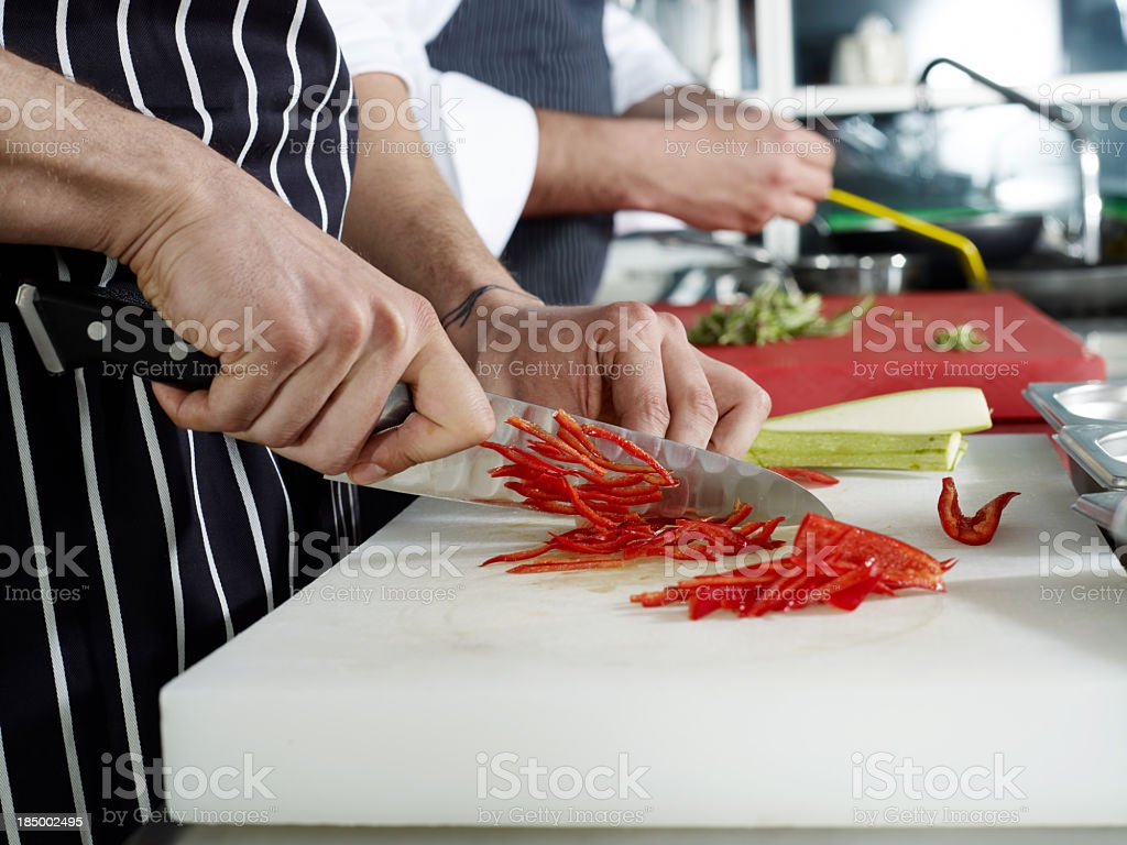 Two Chef royalty-free stock photo