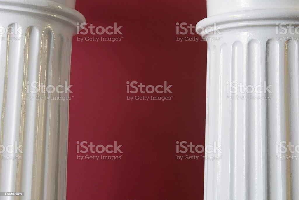 two columns royalty-free stock photo