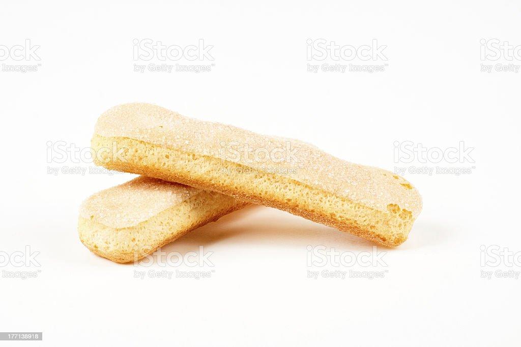 two cookies stock photo